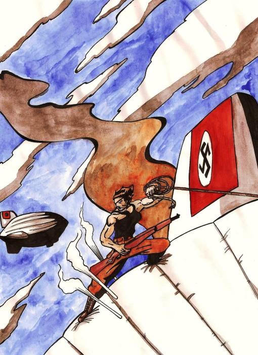Aquí teneis una nueva imagen promocional del comic. Aventuras, acción y nazis por doquier.