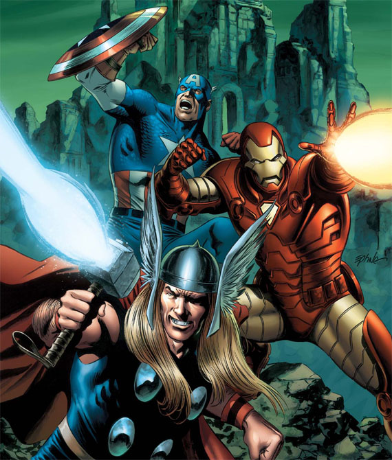 SECCIÓN THOR - Página 4 Avengers-roster-characters-iron-man-thor-captain-america