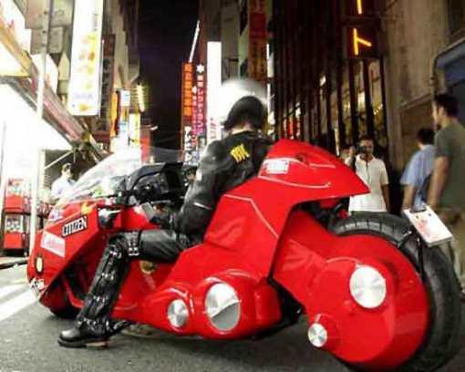 ¿Quién no ha querido conducir la moto de Kaneda?